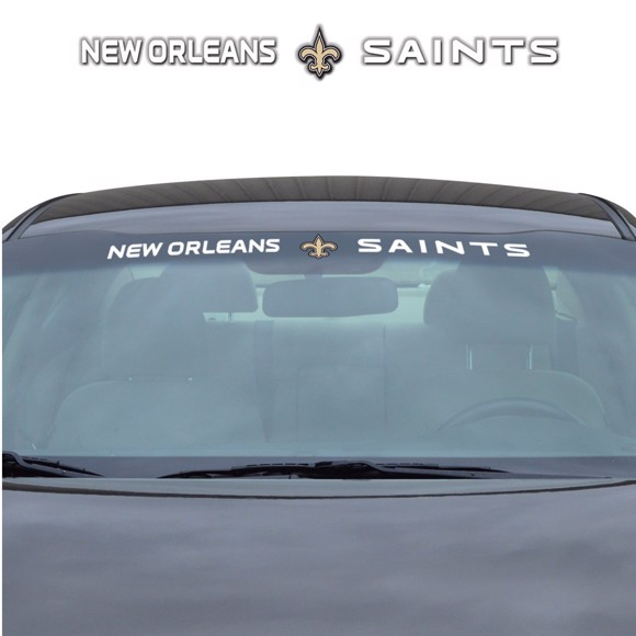 Picture of NFL - New Orleans Saints Windshield Decal