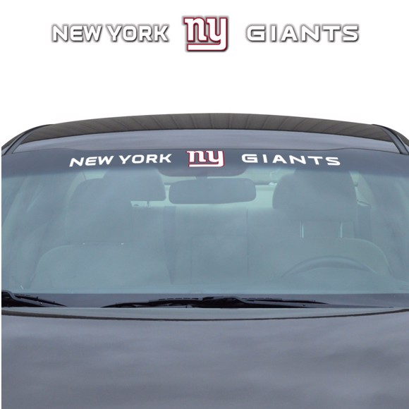 Picture of NFL - New York Giants Windshield Decal