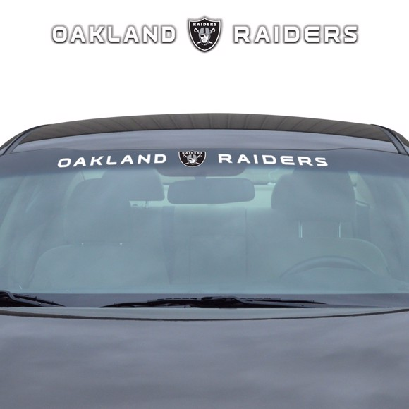 Picture of NFL - Las Vegas Raiders Windshield Decal