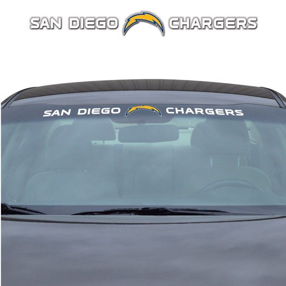 Picture of NFL - Los Angeles Chargers Windshield Decal