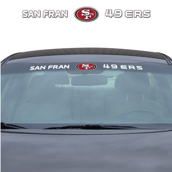 Picture of NFL - San Francisco 49ers Windshield Decal