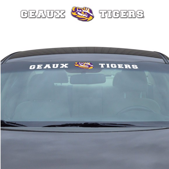 Picture of LSU Windshield Decal
