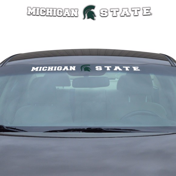 Picture of Michigan State Windshield Decal