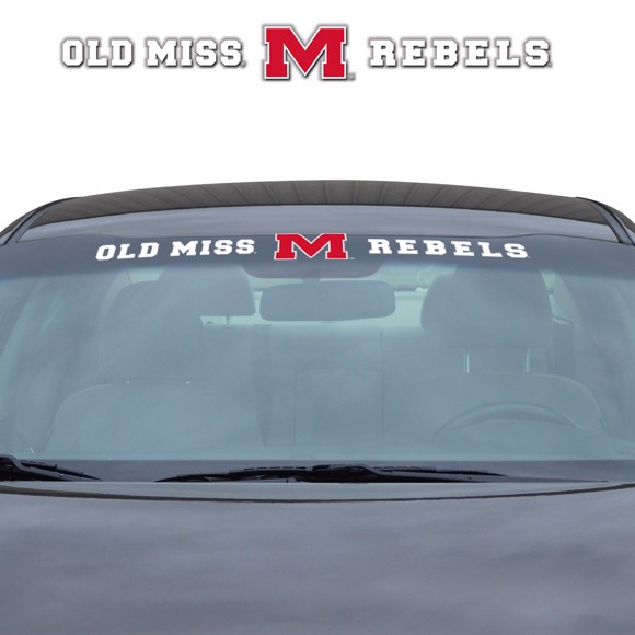Picture of Ole Miss Windshield Decal