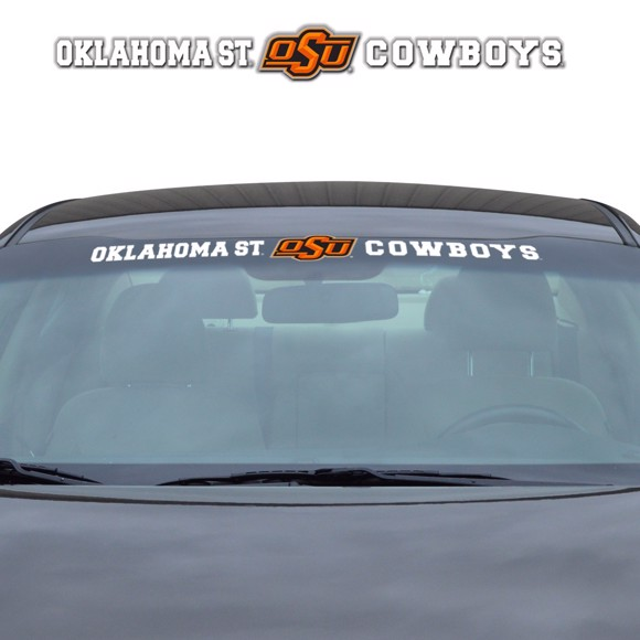 Picture of Oklahoma State Windshield Decal