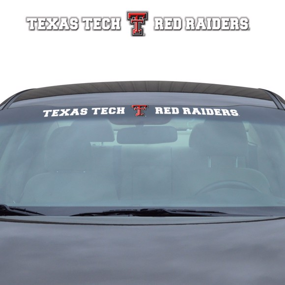 Picture of Texas Tech Windshield Decal