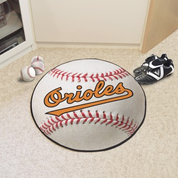 Picture of MLB - Baltimore Orioles Retro Baseball Mat