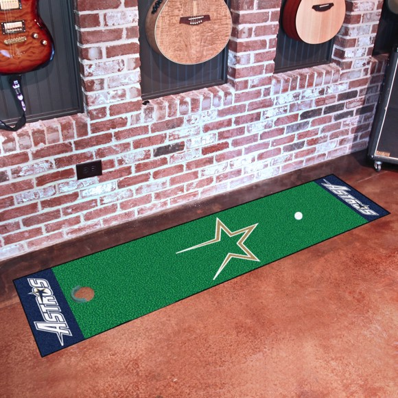 Picture of MLB - Houston Astros Retro Putting Green Mat