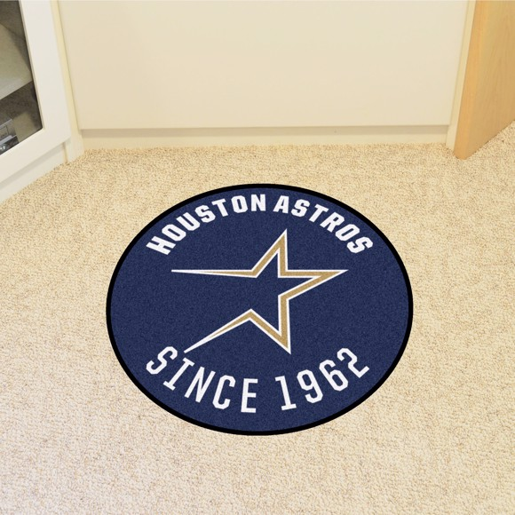 Picture of MLB - Houston Astros Retro Roundel Mat