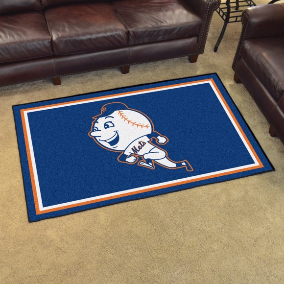Picture of MLB - New York Mets Retro 4x6 Rug