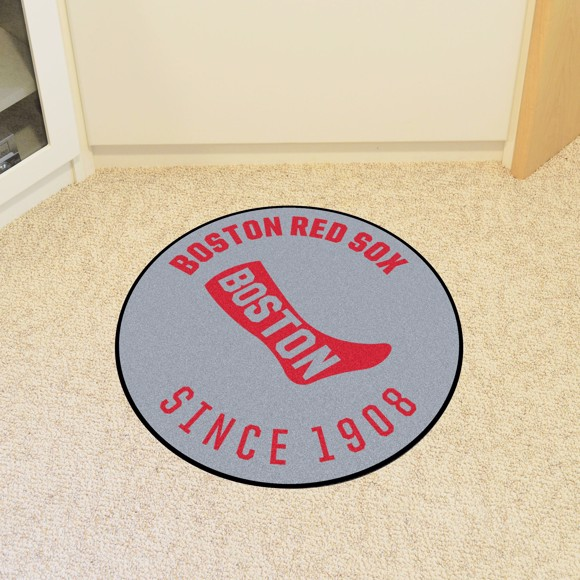 Picture of MLB - Boston Red Sox Retro Roundel Mat