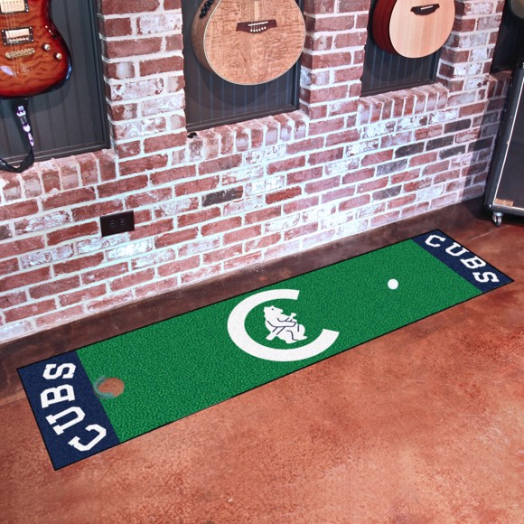 Picture of MLB - Chicago Cubs Retro Putting Green Mat