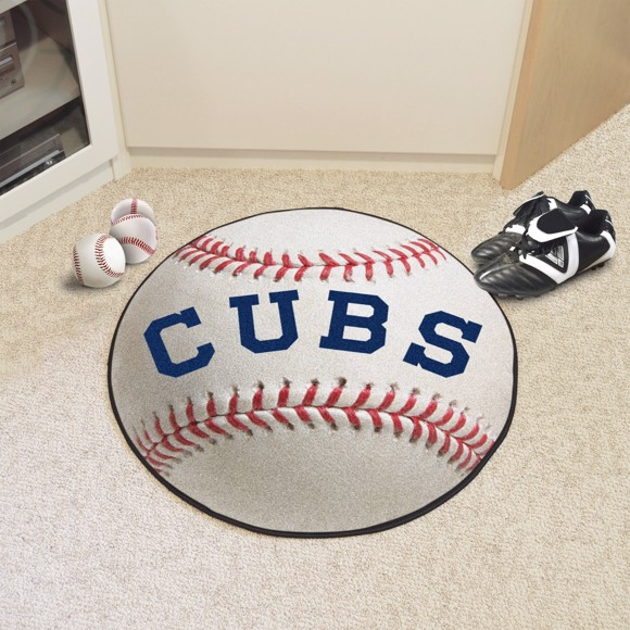 Picture of MLB - Chicago Cubs Retro Baseball Mat