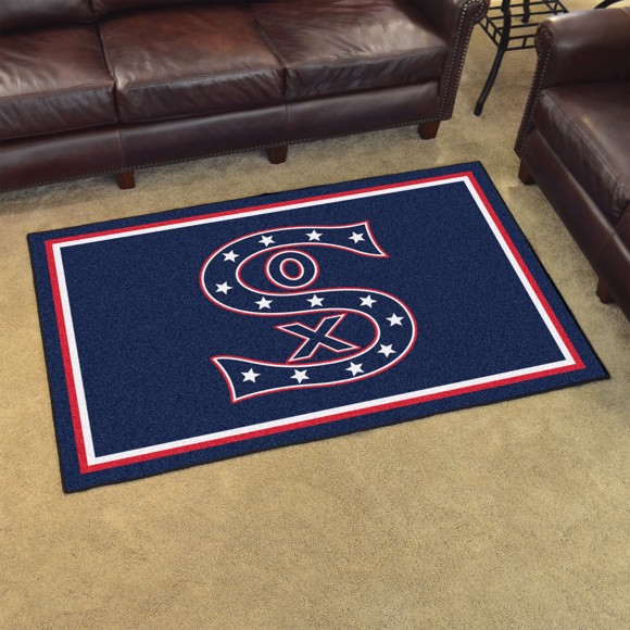 Picture of MLB - Chicago White Sox Retro 4x6 Rug