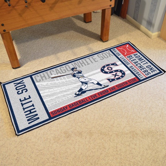 Picture of MLB - Chicago White Sox Retro Ticket Runner