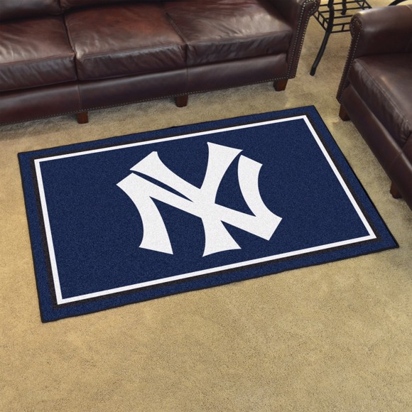 Picture of MLB - New York Yankees Retro 4x6 Rug