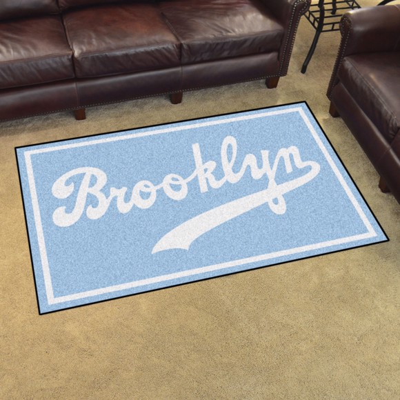 Picture of MLB - Brooklyn Dodgers Retro 4x6 Rug