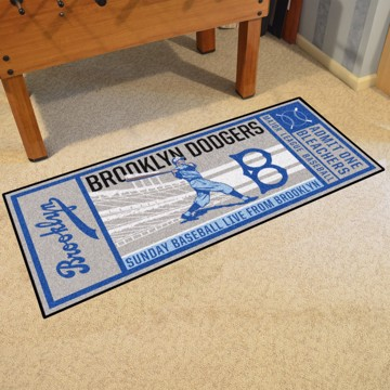 Picture of MLB - Brooklyn Dodgers Retro Ticket Runner