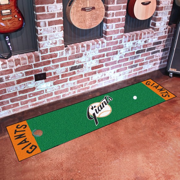 Picture of MLB - New York Giants Retro Putting Green Mat