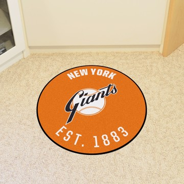Picture of MLB - New York Giants Retro Roundel Mat