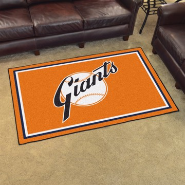 Picture of MLB - New York Giants Retro 4x6 Rug