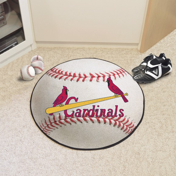 Picture of MLB - St. Louis Cardinals Retro Baseball Mat
