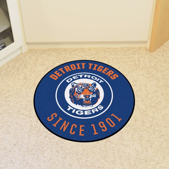 Picture of MLB - Detroit Tigers Retro Roundel Mat