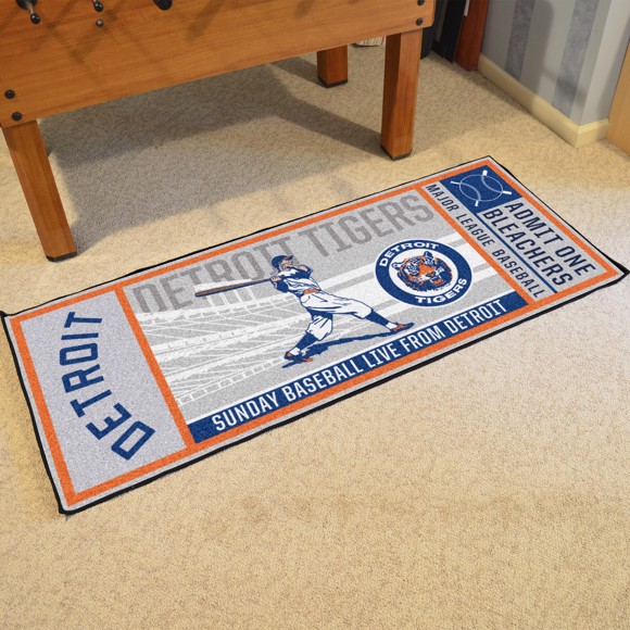 Picture of MLB - Detroit Tigers Retro Ticket Runner