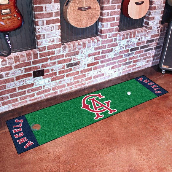 Picture of MLB - California Angels Retro Putting Green Mat