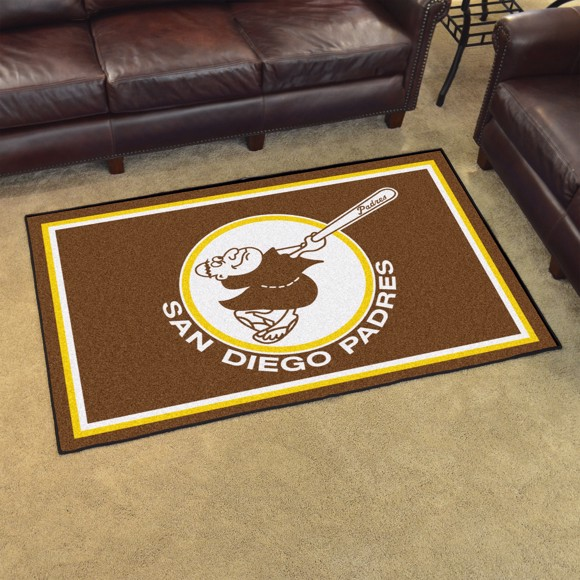 Picture of MLB - San Diego Padres Retro 4x6 Rug