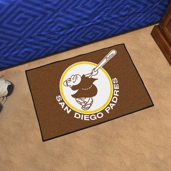 Picture of MLB - San Diego Padres Retro Starter Mat
