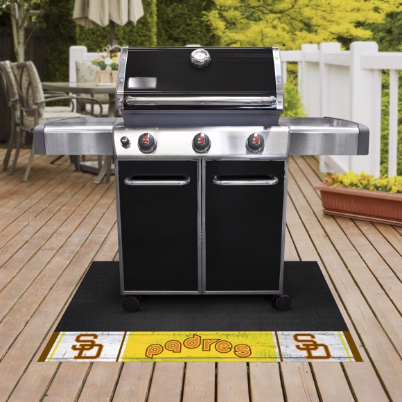 Picture of MLB - San Diego Padres Retro Grill Mat