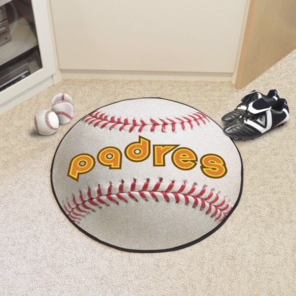 Picture of MLB - San Diego Padres Retro Baseball Mat