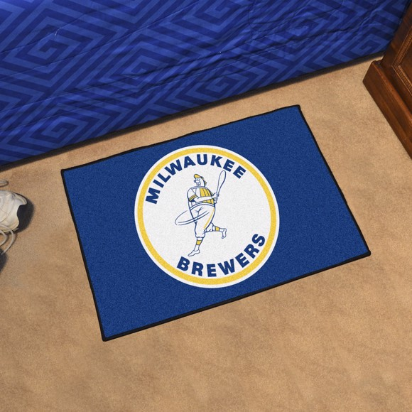 Picture of MLB - Milwaukee Brewers Retro Starter Mat
