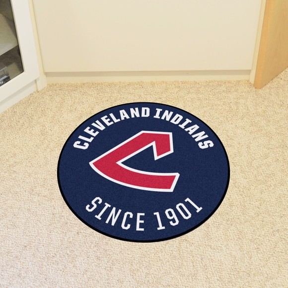 Picture of MLB - Cleveland Indians Retro Roundel Mat