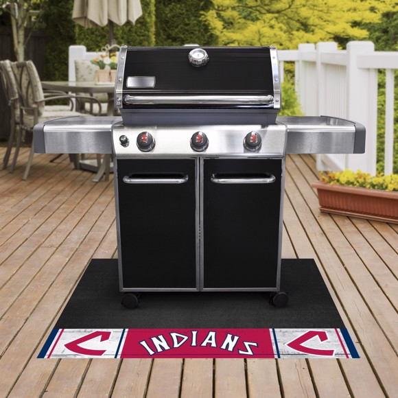 Picture of MLB - Cleveland Indians Retro Grill Mat