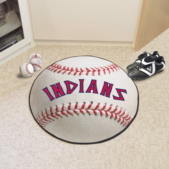Picture of MLB - Cleveland Indians Retro Baseball Mat