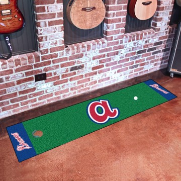 Picture of MLB - Atlanta Braves Retro Putting Green Mat