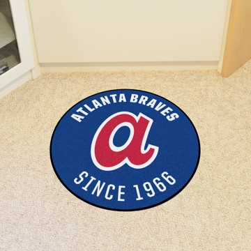 Picture of MLB - Atlanta Braves Retro Roundel Mat
