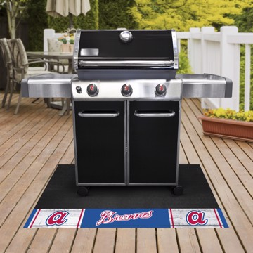 Picture of MLB - Atlanta Braves Retro Grill Mat