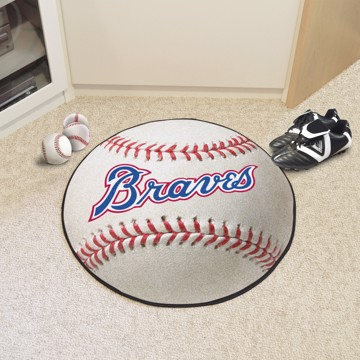 Picture of MLB - Atlanta Braves Retro Baseball Mat