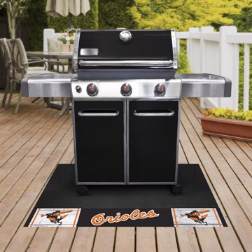Picture of MLB - Baltimore Orioles Retro Grill Mat