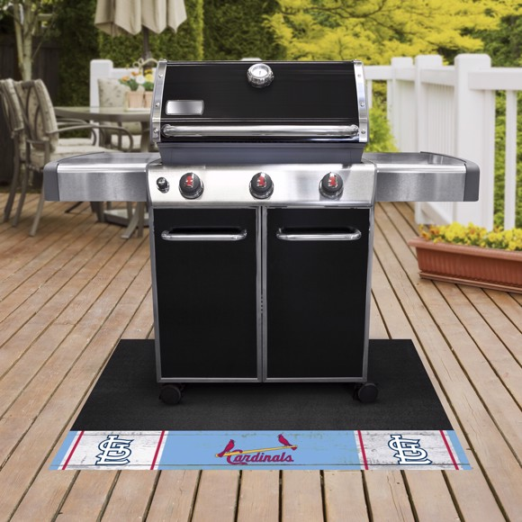 Picture of MLB - St. Louis Cardinals Retro Grill Mat