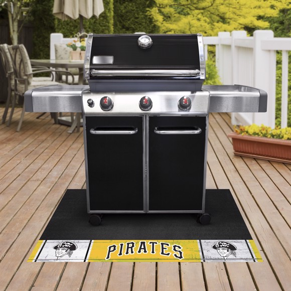 Picture of MLB - Pittsburgh Pirates Retro Grill Mat
