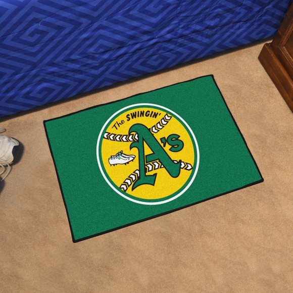 Picture of MLB - Oakland Athletics Retro Starter Mat