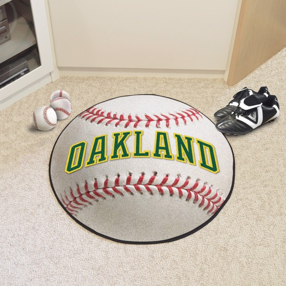 Picture of MLB - Oakland Athletics Retro Baseball Mat