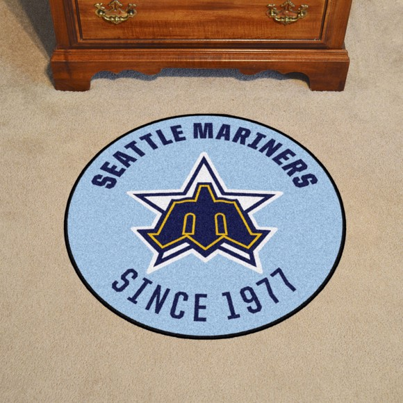Picture of MLB - Seattle Mariners Retro Roundel Mat