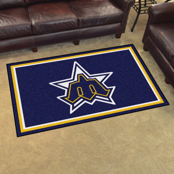Picture of MLB - Seattle Mariners Retro 4x6 Rug