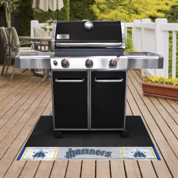 Picture of MLB - Seattle Mariners Retro Grill Mat
