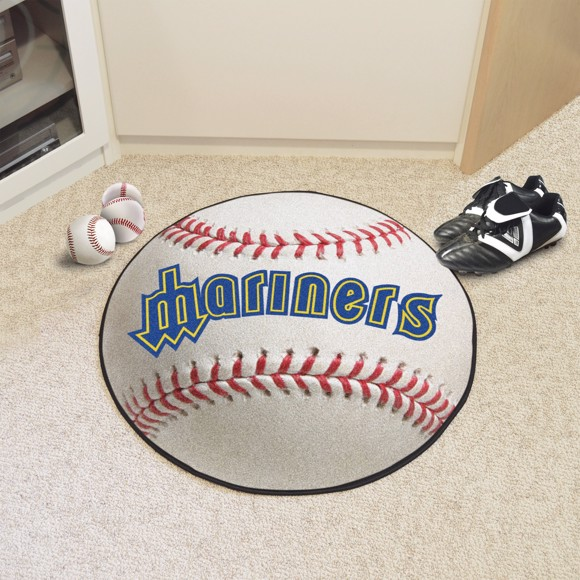 Picture of MLB - Seattle Mariners Retro Baseball Mat